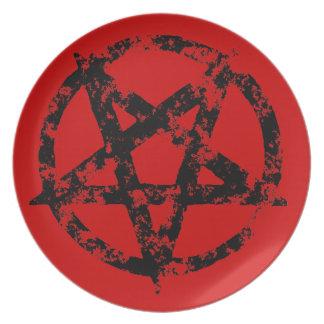 Pentagram Plates
