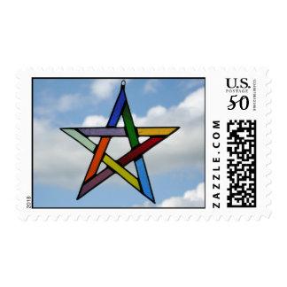 Pentagram Postage Stamp