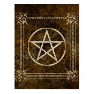 Pentagram Postcard