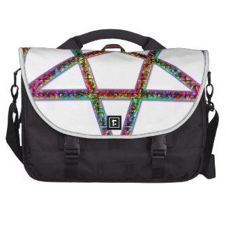 pentagram psychedlic bags for laptop