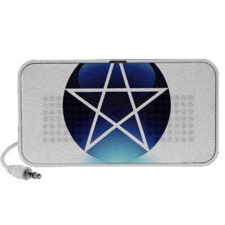 Pentagram- Religious symbol of satanism Mp3 Speakers