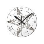 pentagram relojes de pared