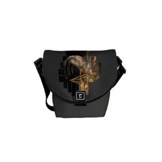Pentagram Rising Courier Bag