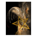 Pentagram Rising Postcard