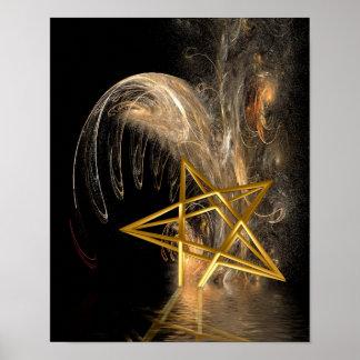 Pentagram Rising Posters
