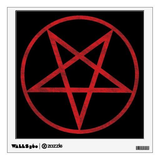 Pentagram rojo