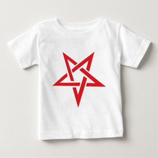 pentagram rojo playeras