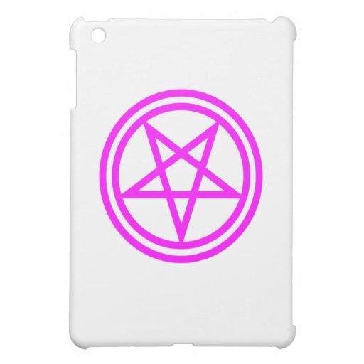 Pentagram rosado invertido