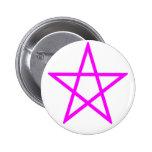 Pentagram rosado vertical pins