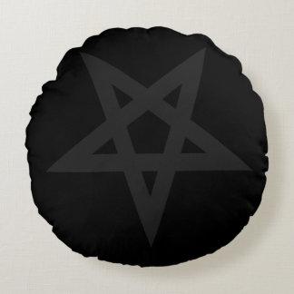 Pentagram Round Pillow