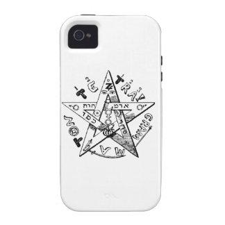 Pentagram satánico iPhone 4/4S funda