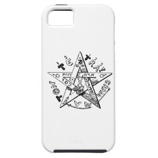 Pentagram satánico iPhone 5 Case-Mate cárcasas