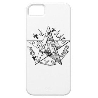 Pentagram satánico iPhone 5 Case-Mate cárcasa