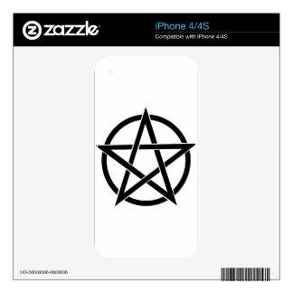 pentagram skin for the iPhone 4