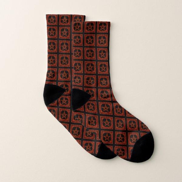 Pentagram socks