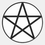 Pentagram stickers