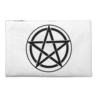 Pentagram Symbol - Five-Pointed Star Travel Accessories Bag