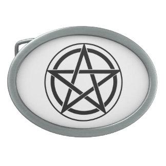 Pentagram Symbol - Five-Pointed Star Belt Buckles
