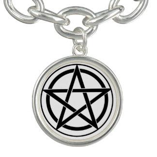 Pentagram Symbol - Five-Pointed Star Bracelet