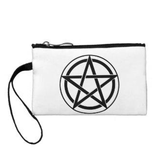 Pentagram Symbol - Five-Pointed Star Coin Purse