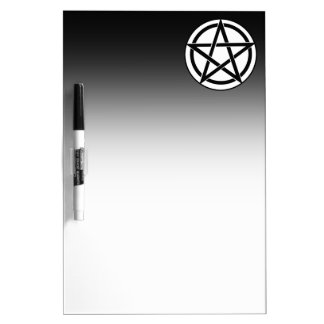 Pentagram Symbol - Five-Pointed Star Dry-Erase Whiteboard