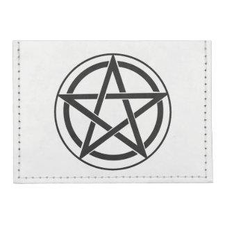 Pentagram Symbol - Five-Pointed Star Tyvek® Card Wallet