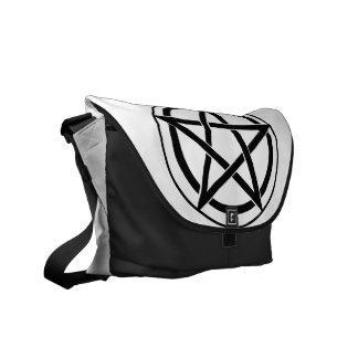 Pentagram Symbol - Five-Pointed Star Messenger Bags