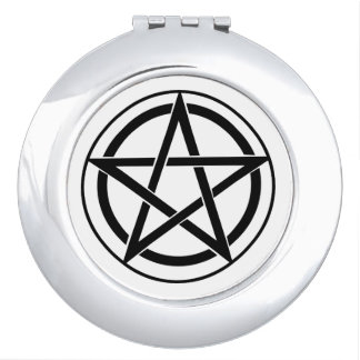 Pentagram Symbol - Five-Pointed Star Mirrors For Makeup