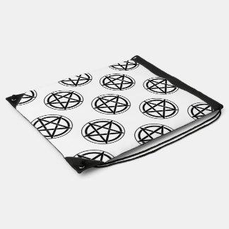 Pentagram Symbol - Five-Pointed Star Drawstring Bags