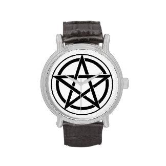 Pentagram Symbol - Five-Pointed Star Wrist Watch