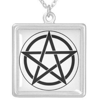 Pentagram Symbol Personalized Necklace