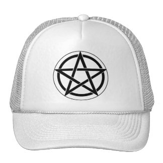 Pentagram Symbol Trucker Hat