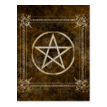 Pentagram Tarjeta Postal