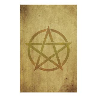 Pentagram texturizado  papeleria