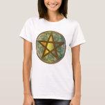Pentagram, Tri-Quatra & Celtic Knot-2 Women T-Shit T-Shirt