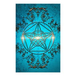 Pentagram, un símbolo mágico personalized stationery