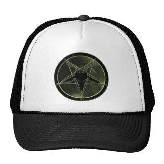 Pentagram verde gorra