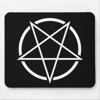 Pentagram (white) No.1 Mouse Pad