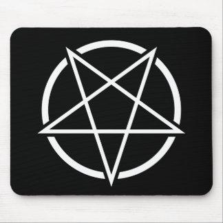 Pentagram (white) No.1 Mouse Pad