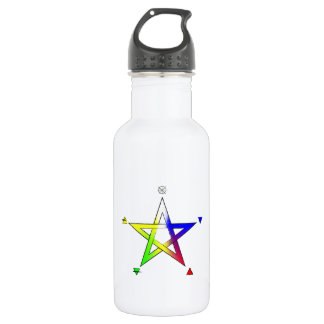 Pentagrama Elemental Water Bottle