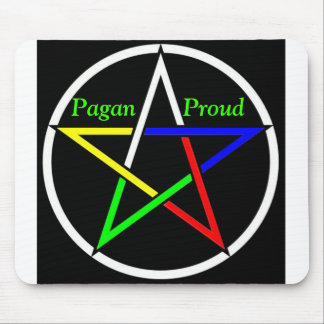 Pentagramcolor, Pagan       Proud Mouse Pad