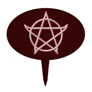 Pentagramm pentacle figuras de tarta