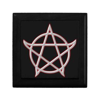 Pentagramm pentacle caja de regalo