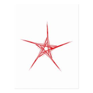 Pentagramm pentacle tarjetas postales