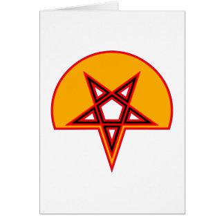 Pentagramm pentagram felicitaciones