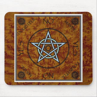 Pentangle Pentagram Witchcraft Divination Dowsing  Mouse Pad