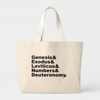 Pentateuch   Genesis Exodus Leviticus Numbers... Tote Bag