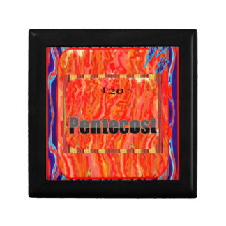 Pentecost 120 degrees Flames Jewelry Boxes