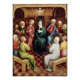 Pentecost, 1450 poster