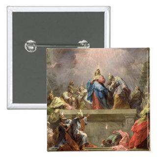 Pentecost, 1732 2 inch square button